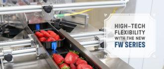 Высокотехнологичная упаковка Flow Pack с машинами компании SMIPACK серии FW